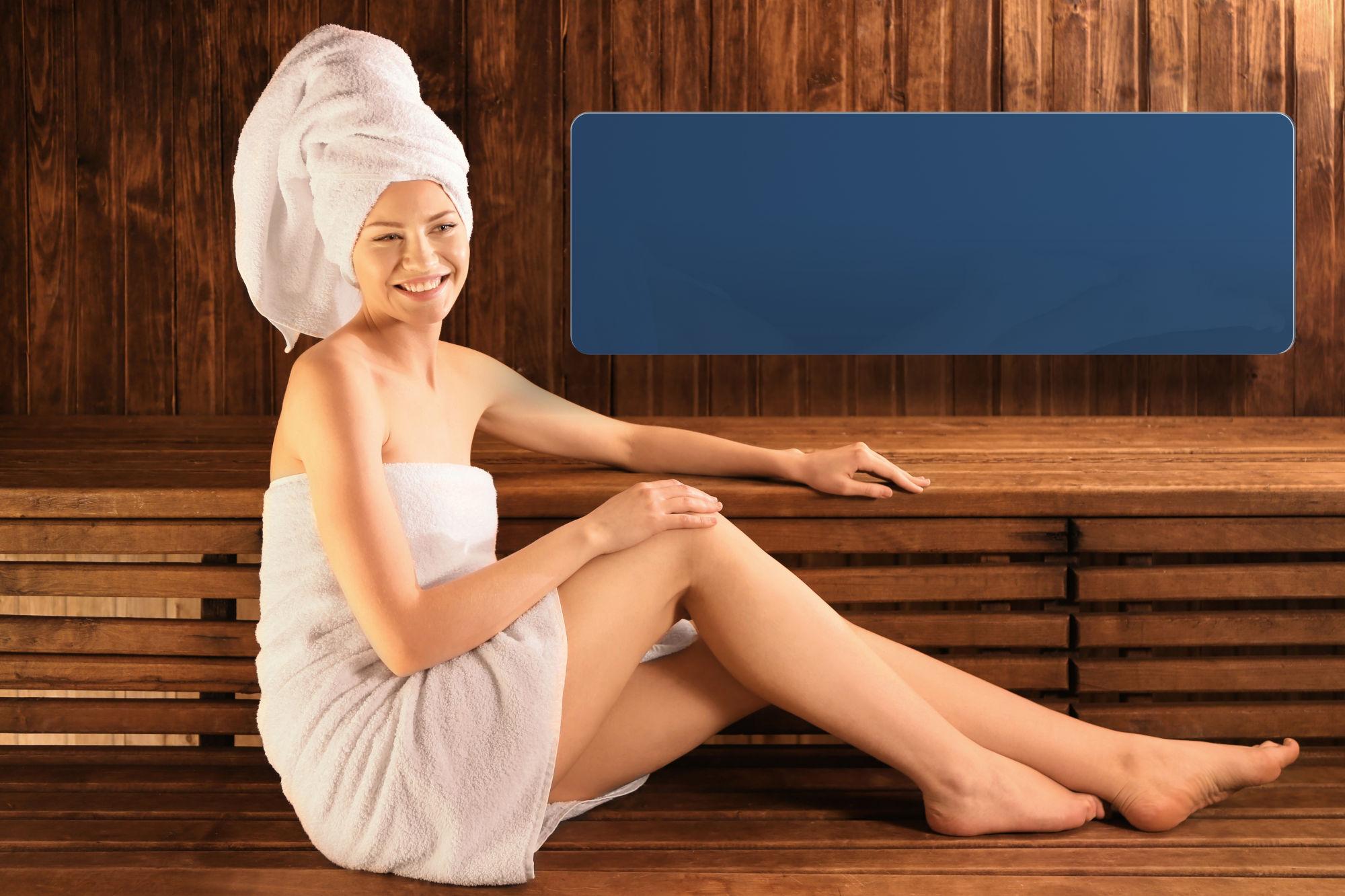 Pannello radiante infrarossi Celsius CP1/LOF Sauna per sauna infrarossi